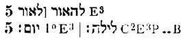 von Gall Gen 1:5